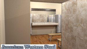 American Western Steel Construction Room