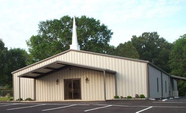 prefabricated steel churches