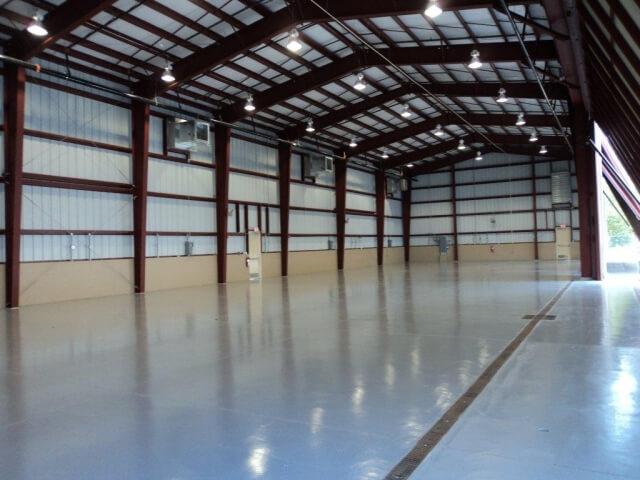 steel contractors turnkey hangar construction