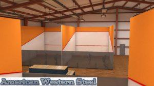 steel arena court