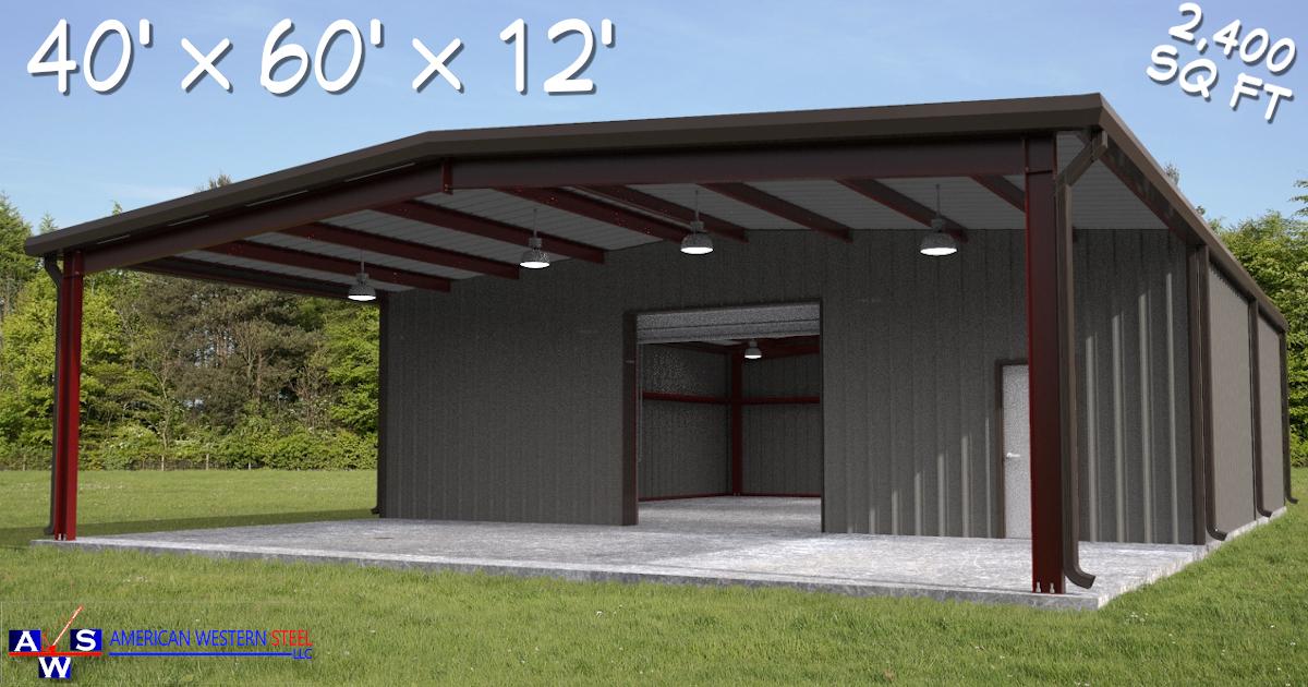 40X60 Prefab Building Kit