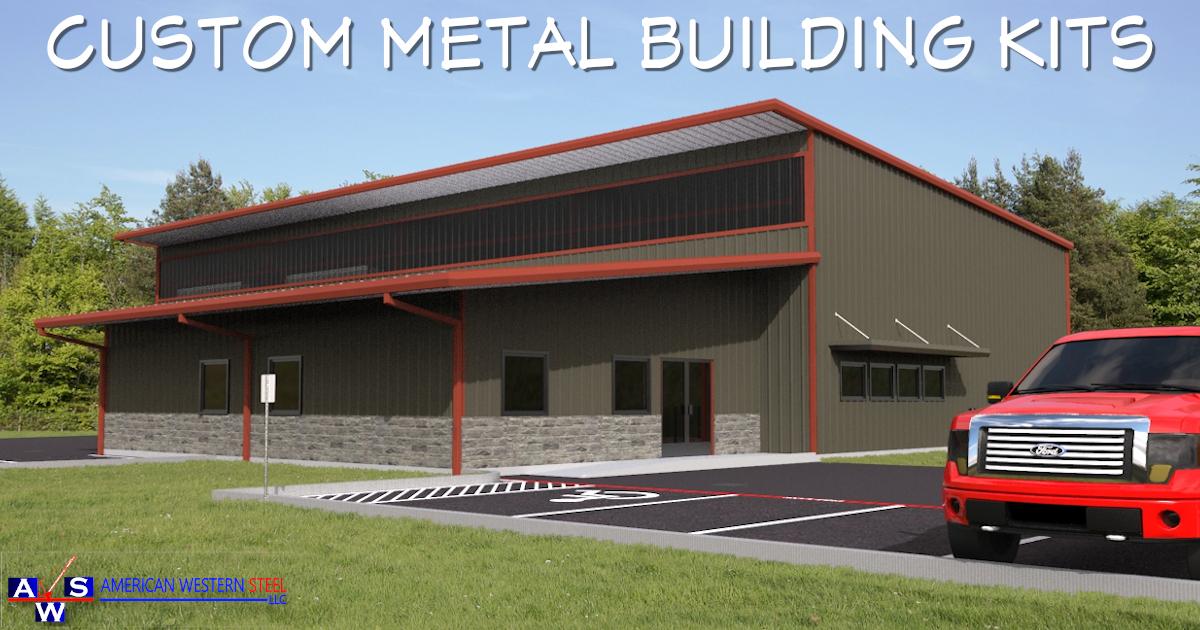 40x50 Garage Metal Building Kit