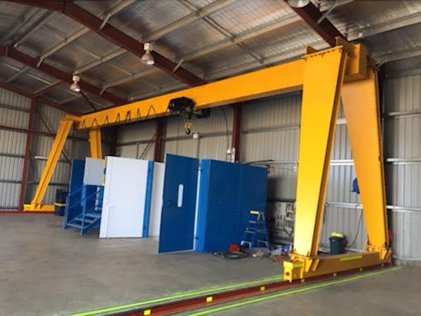 Gantry Cranes in San Antonio